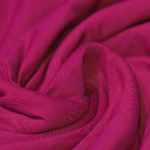 Jersey coton fushia