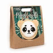 Punch Needle Panda