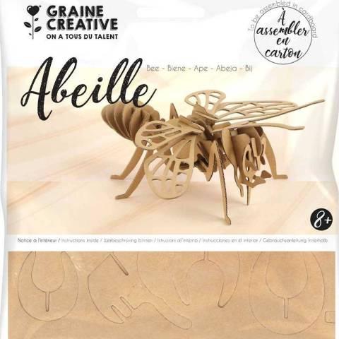 Maquette à assembler en carton – Abeille