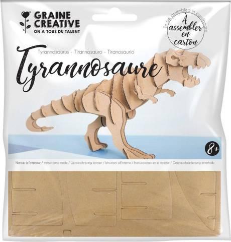 Maquette à assembler en carton – Tyranosaure