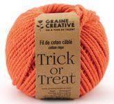 Fil de coton cablé 2,5mm – Trick or treat