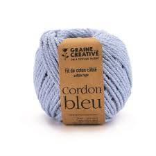 fil de coton cablé 2,5mm – Cordon bleu