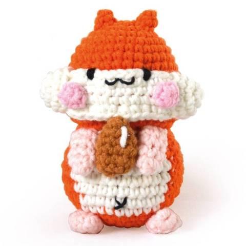 kit minigurumi - Pochi le Hamster