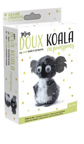 Mon doux Koala en pompons