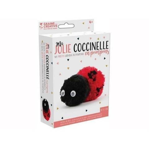 Ma jolie Coccinelle en pompons