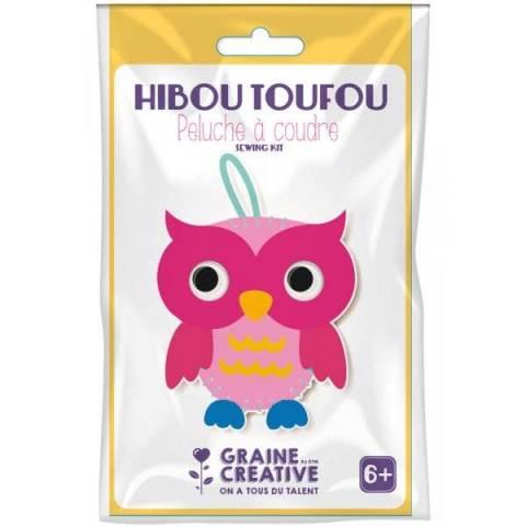 Peluche a Coudre - Hibou Toufou
